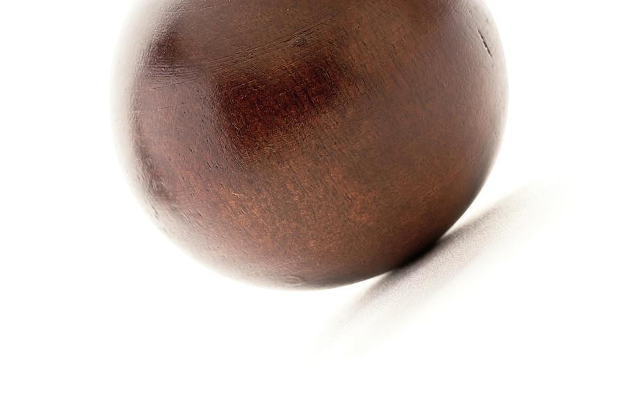 Wood Photograph - Wooden Ball by  Onyonet  Photo Studios