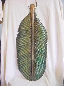 Wooden Banana Leaf-sold Painting by Lisa Ruggiero