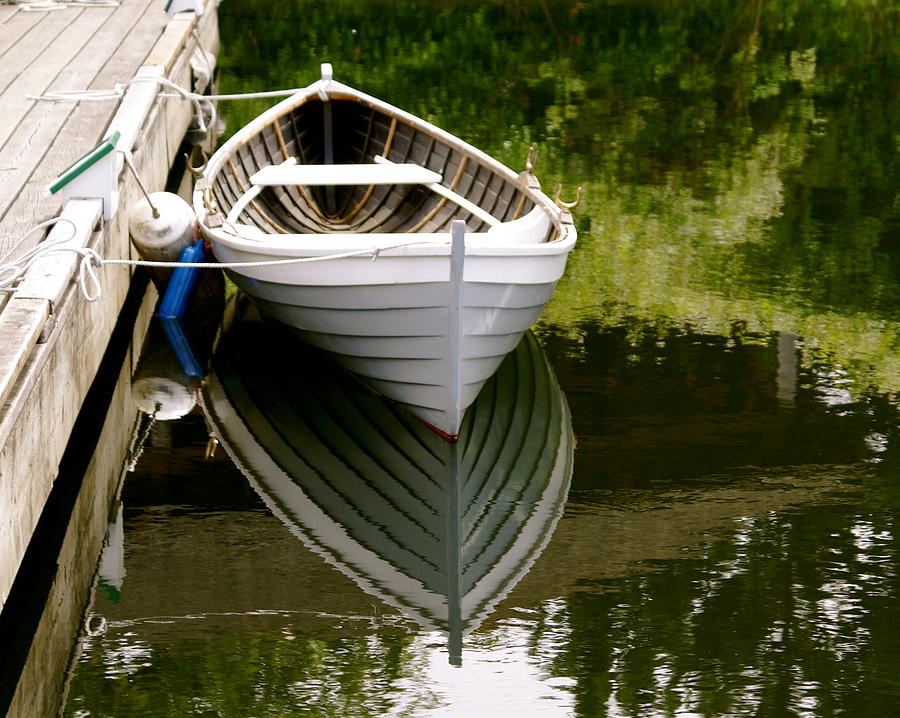 Wooden Boat Photograph - Wooden Boat by Sonja Anderson