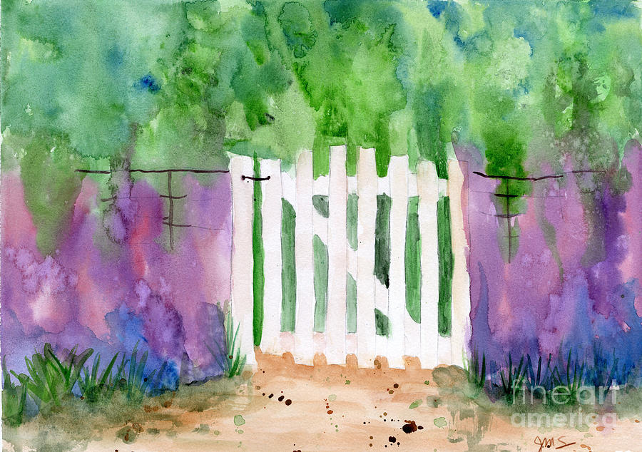 Wooden Gate by Julia Stubbe