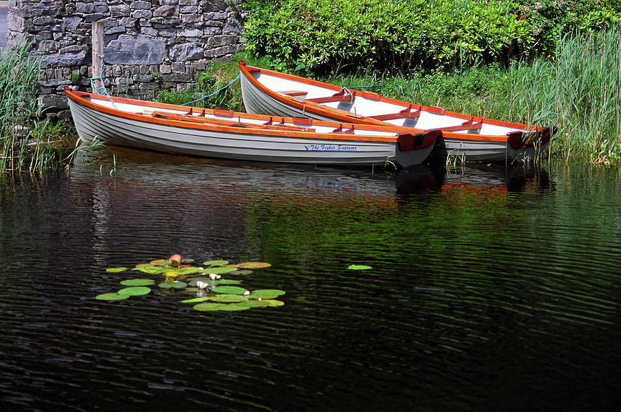 Wooden Rowboats Photograph By Sally Weigand