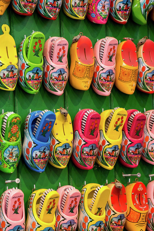 Wooden Shoes From Amsterdam By Elisabeth De Vries