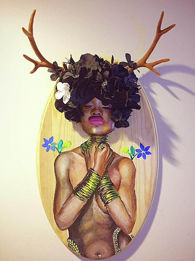 Woodgoddess Mixed Media by Baroquen Krafts
