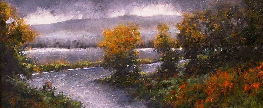 Painting Painting - Woodland Bottoms by Jim Gola