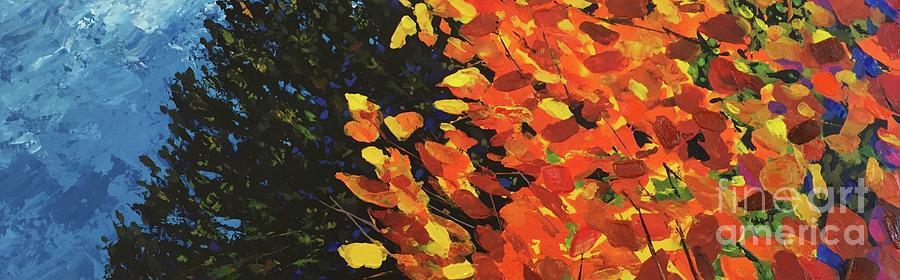 Aspen Painting - Woodland Spirit by Hunter Jay