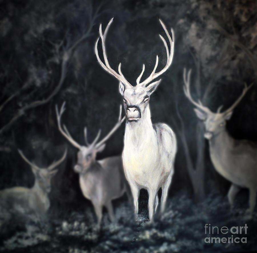 Woodland Spirits by Nancy Bradley