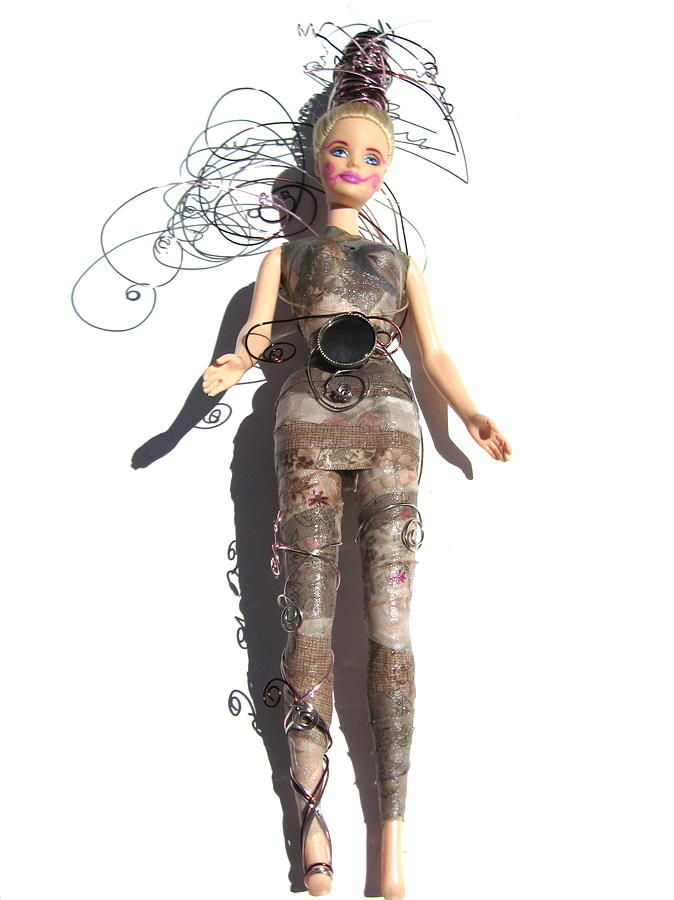 Fairy Photograph - Woodland Warrior Princess Fairy Enelma by Shelia Howe