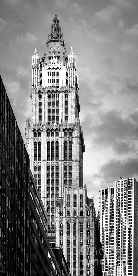 America Photograph - Woolworth building by Juergen Held