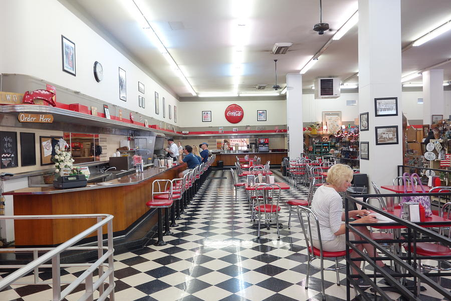 Woolworth's Bakersfield Interior by Matthew Bamberg