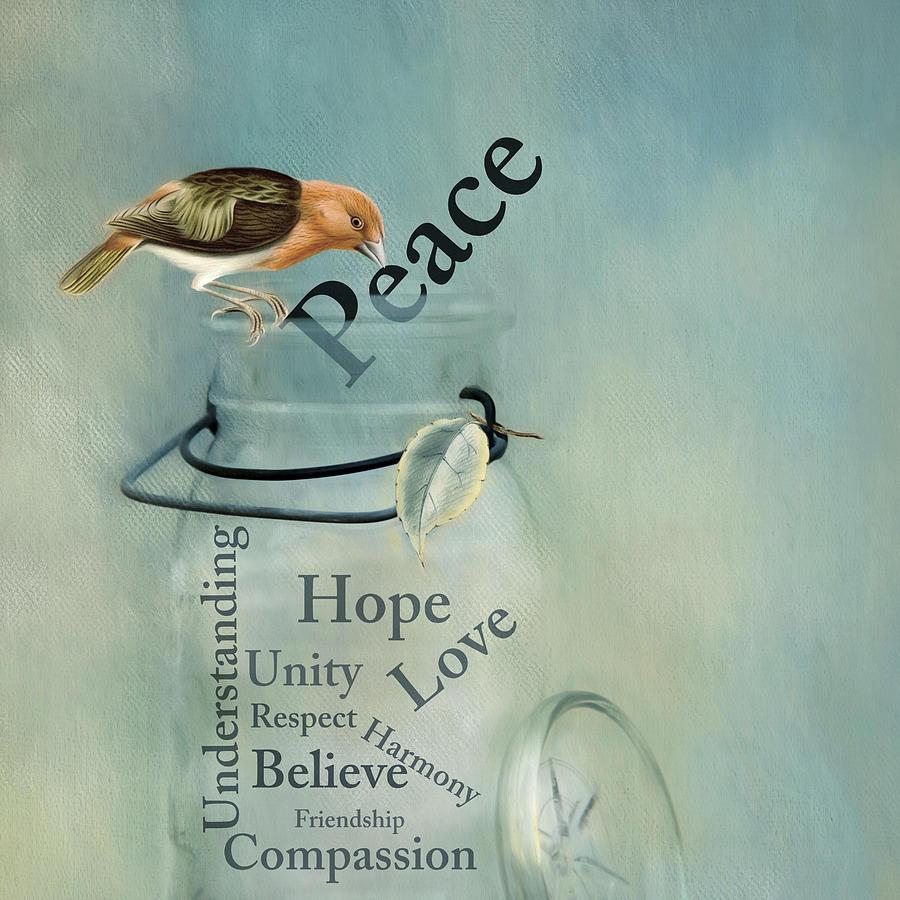 Peace by Robin-Lee Vieira