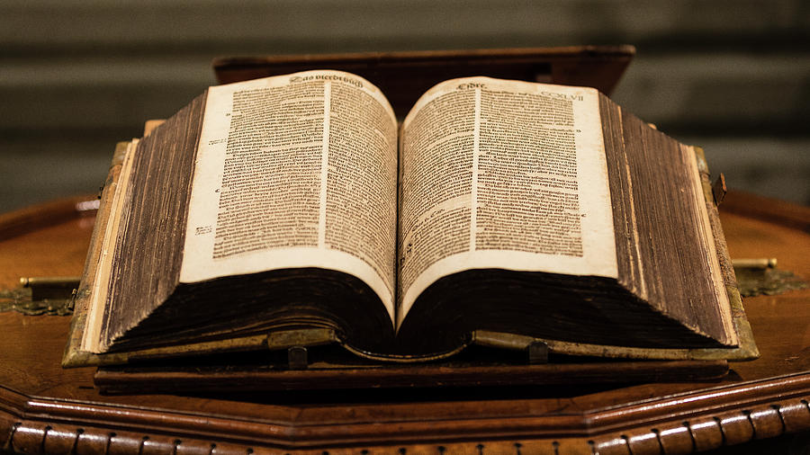 Bible Photograph - Word Of God by Stephen Stookey