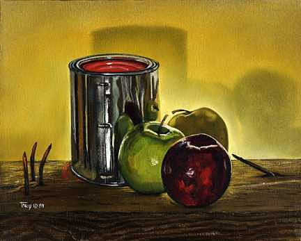 Work Break Painting - Work Break by Robert Tracy