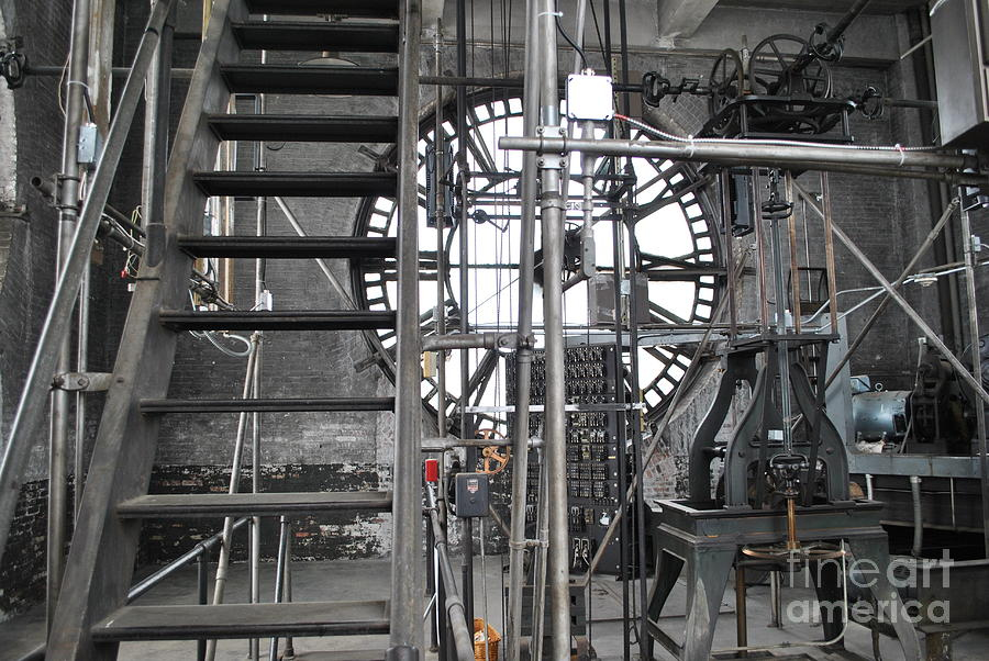 Clock Photograph - Work Time by Jost Houk