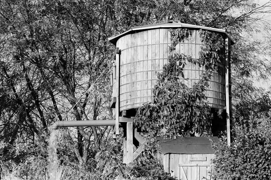 Water Photograph - Working Water Tower by Shelly Dixon