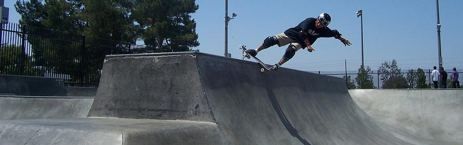 Skateboarding Photograph - Working With Tranistions by Douglas Kriezel