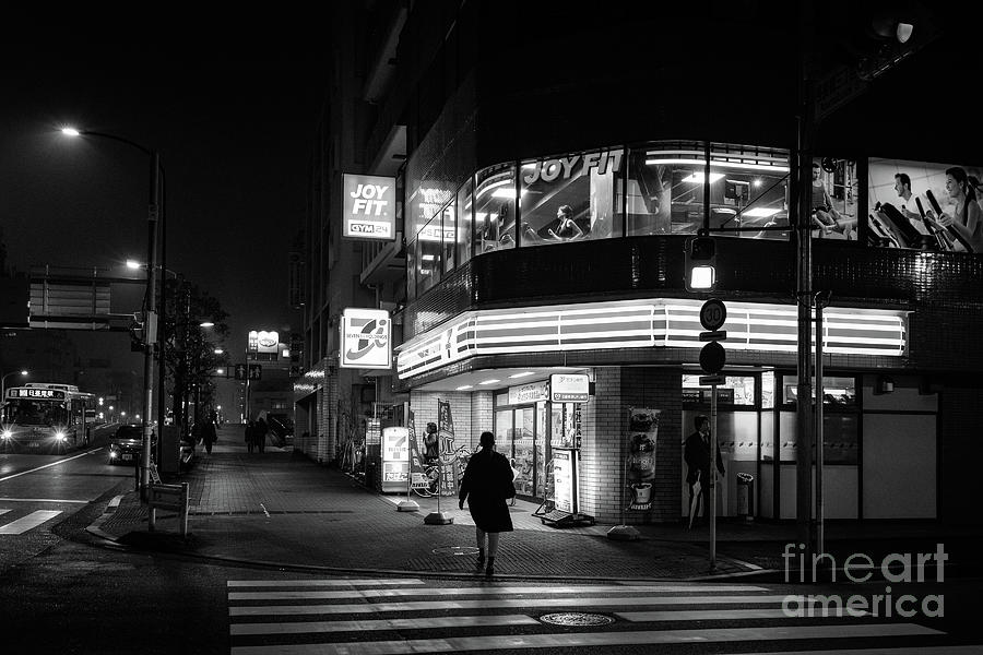 People Photograph - Workout The Night, Tokyo Japan by Perry Rodriguez