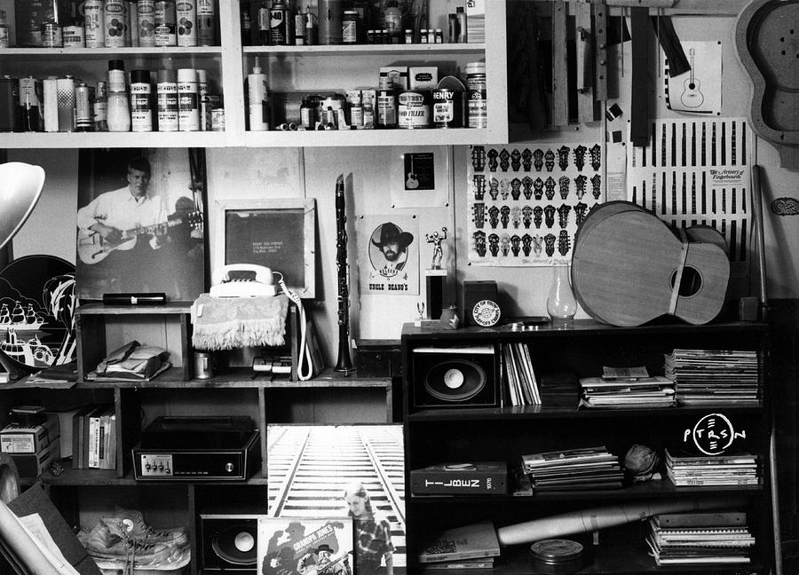 Black & White Photography Photograph - Workroom 1979 by Gary Peterson