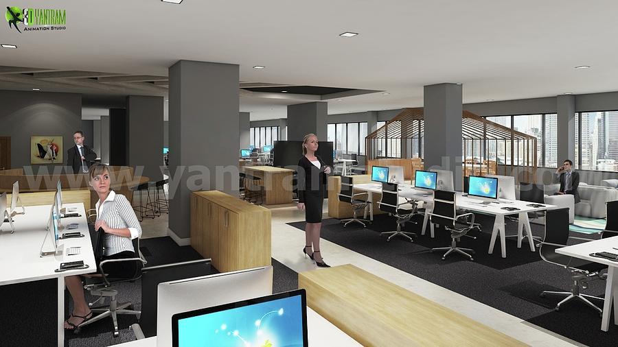 Workstation Ideas Office Interior Flooring Computer By Yantram Interior  Design Images Miami, Usa