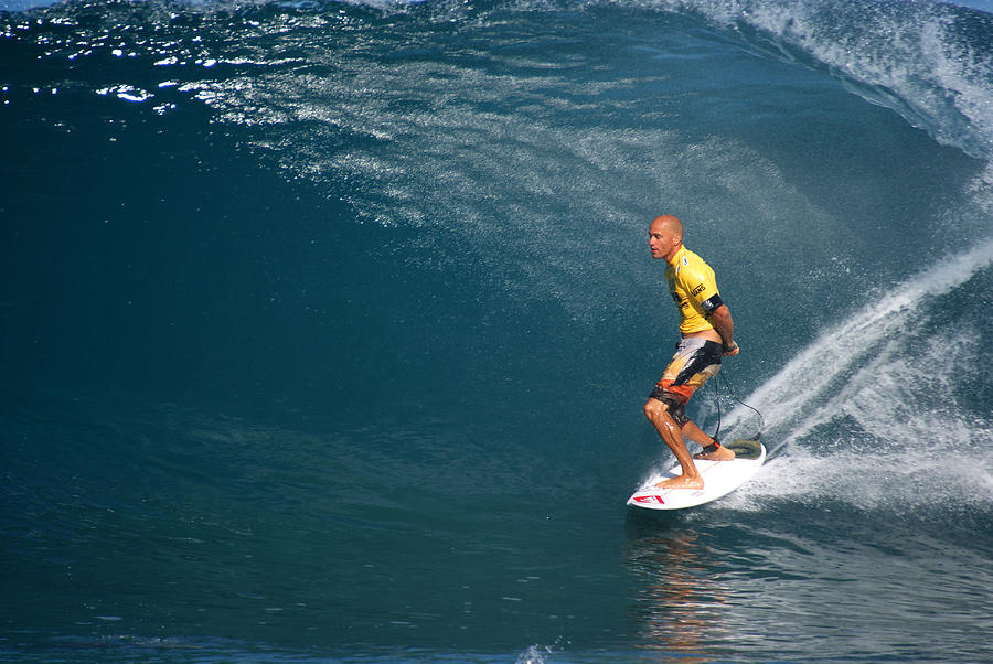 Kelly Slater Photograph - World Champion X11 by Kevin Smith