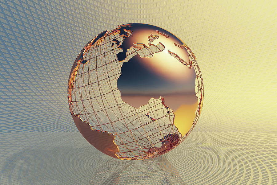 World Global Business Background Photograph