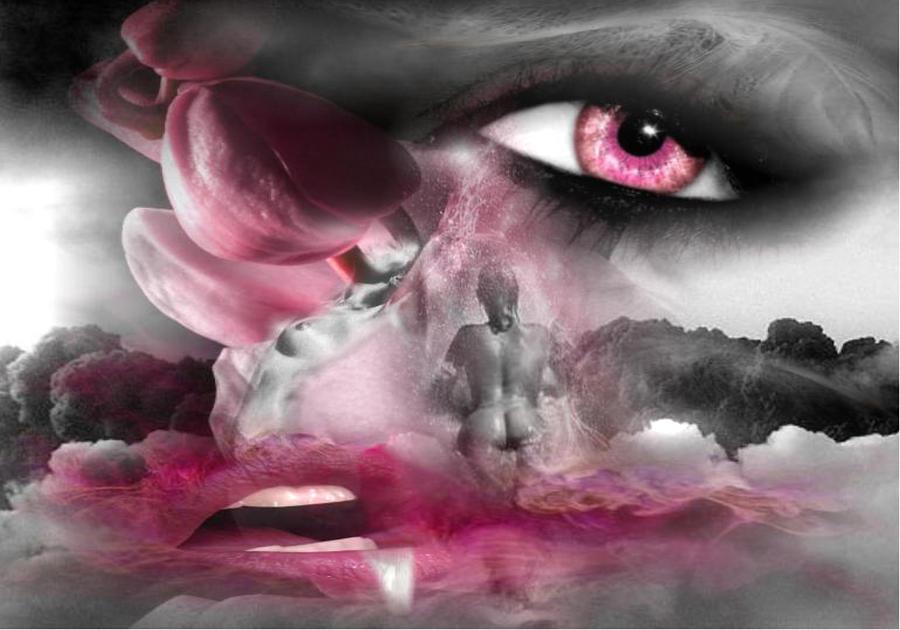 Senses Digital Art - World Of The Senses by Maria Datzreiter
