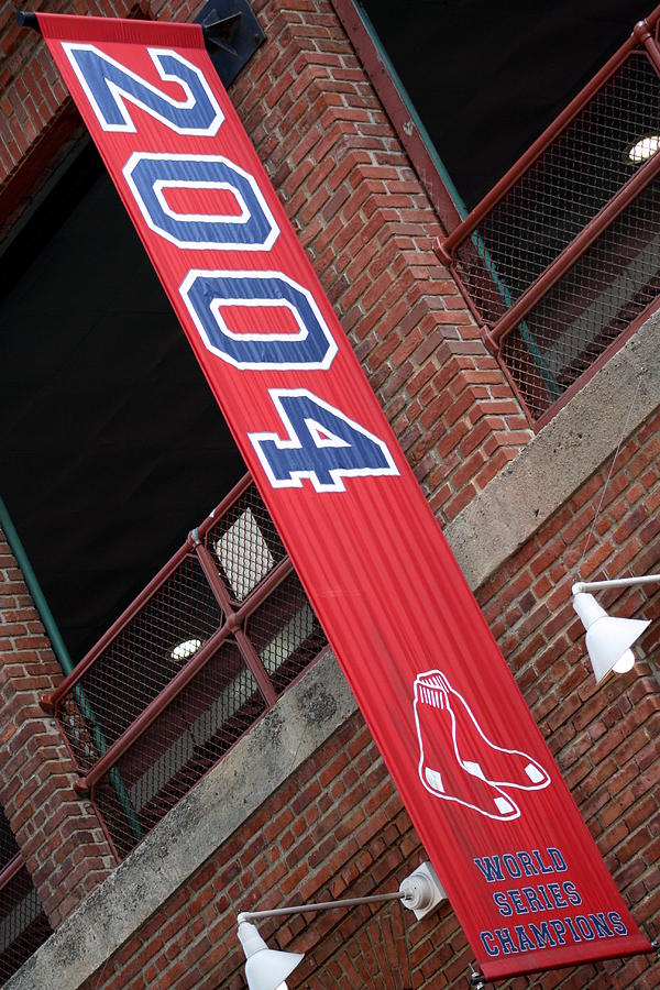 Fenway Photograph - World Series Champs by Greg DeBeck