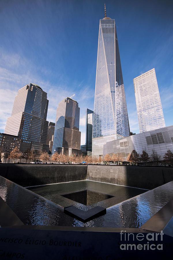 World Trade Center Photograph - World Trade Center by Bener Kavukcuoglu