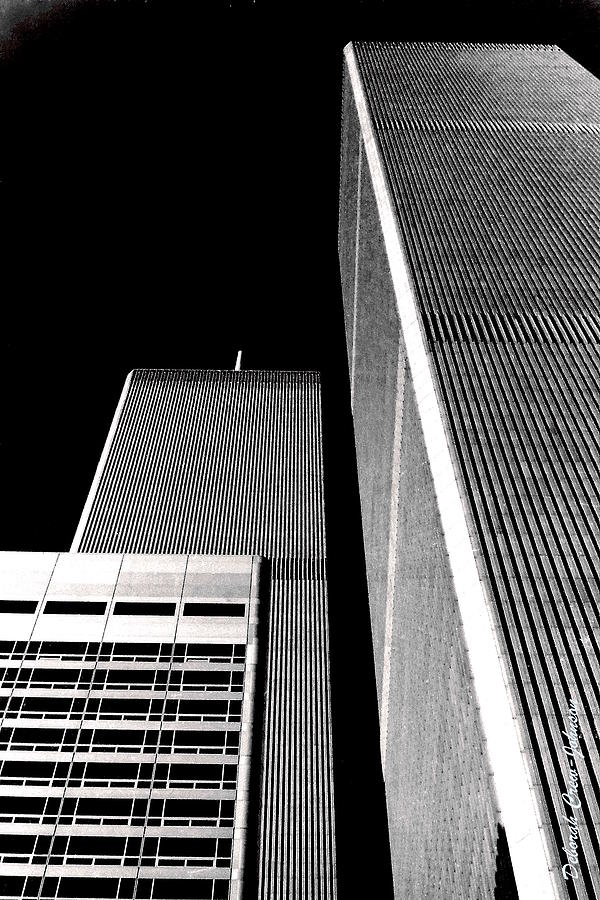 City Photograph - World Trade Center Pillars by Deborah  Crew-Johnson
