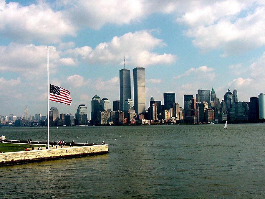 World Trade Center Photograph - World Trade Center Remembered by Tim Mattox