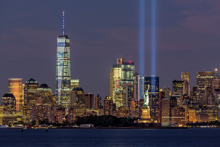 Attractive September 11 Photograph   World Trade Center Wtc Tribute In Light Memorial  By Susan Candelario Awesome Ideas
