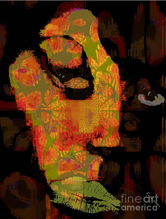 Fania Simon Painting - World Traveler Against Forced Marriage by Fania Simon