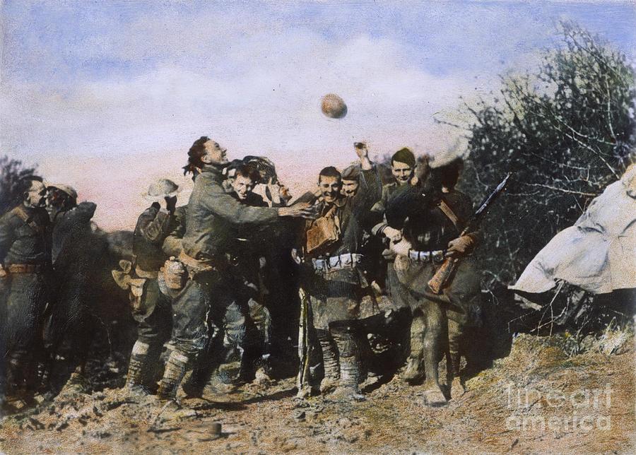 1918 Photograph - World War I: Armistice by Granger