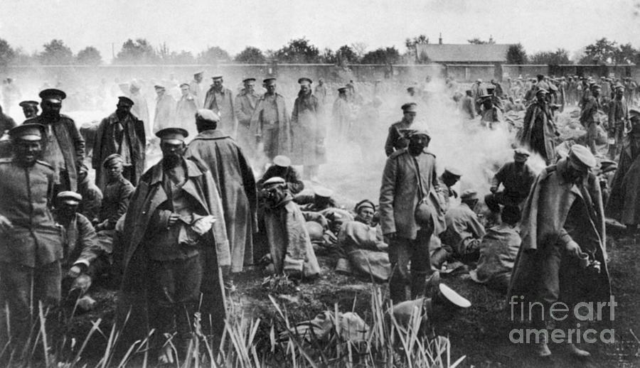 1914 Photograph - World War I: Russians 1914 by Granger