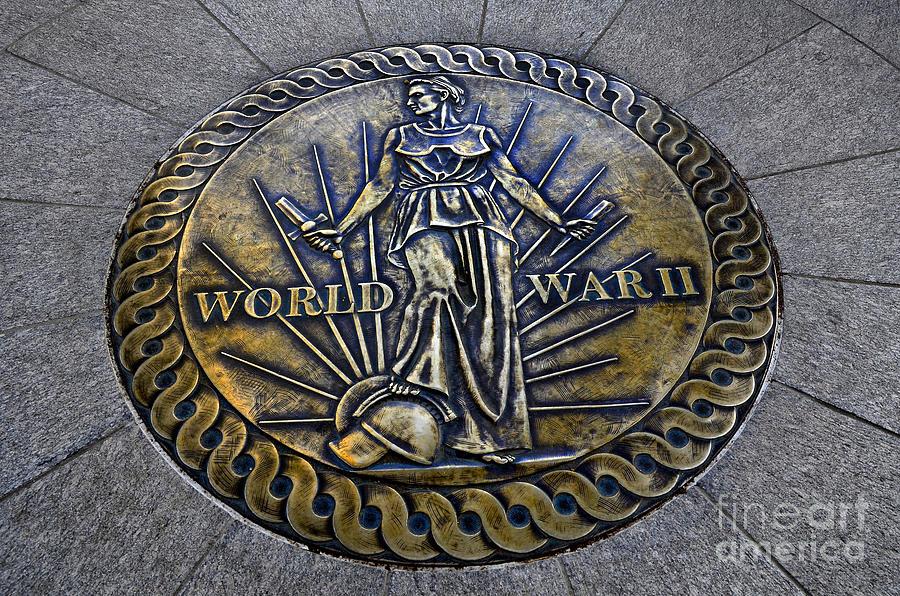 Award Photograph - World War II Monument by Lane Erickson