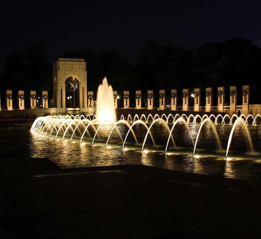 World War Ii Memorial Photograph - World War Memorial by Kim Hojnacki