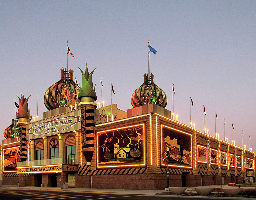 World's Only Corn Palace 2017-18 by Richard Stedman