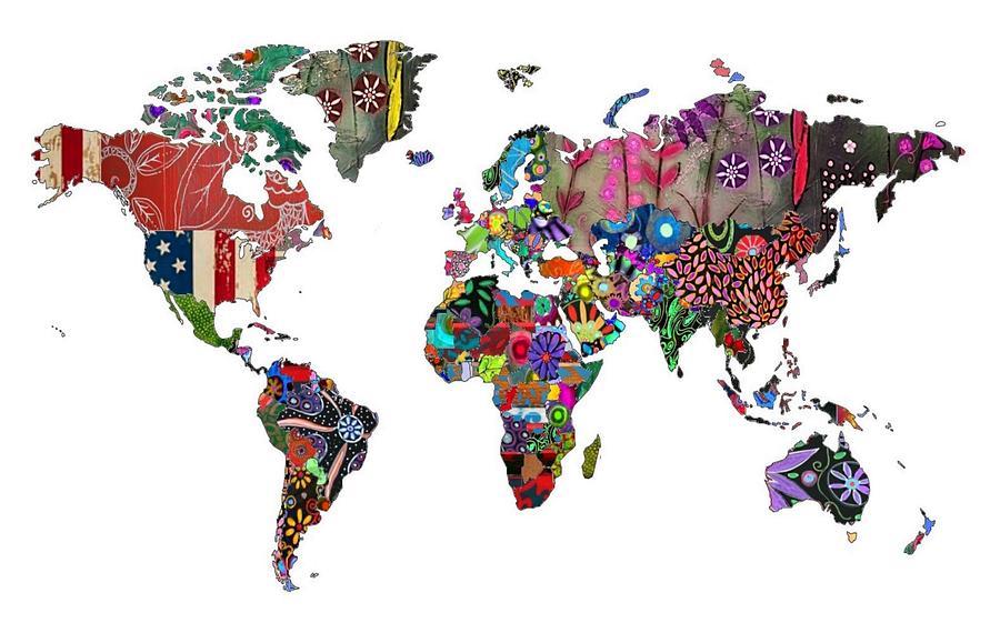 World Painting - Worldwide by Rick Cheadle