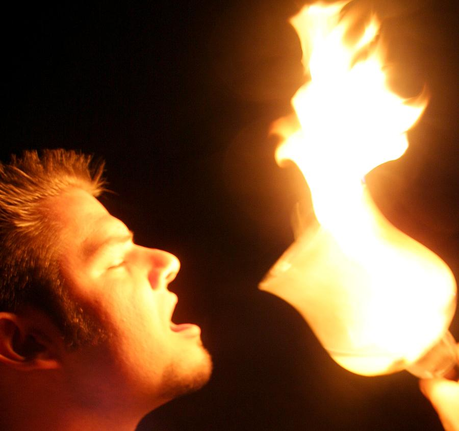 Fire Photograph - Worship by Cassandra Wessels