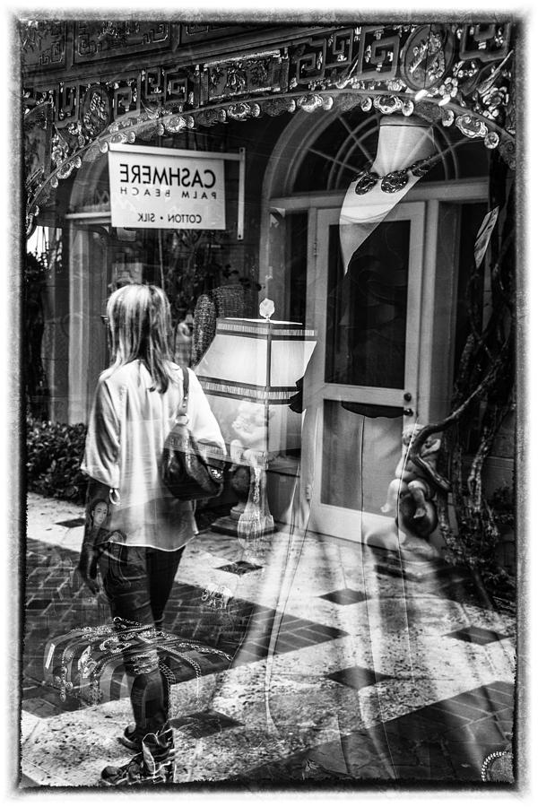 Florida Photograph - Worth Ave Reflections 0509 by Bob Neiman