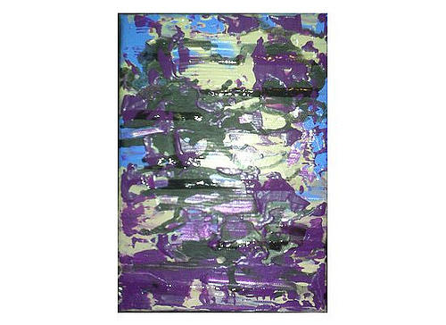 Purple Painting - Wouldnt It Be Nice by Kristin Miller