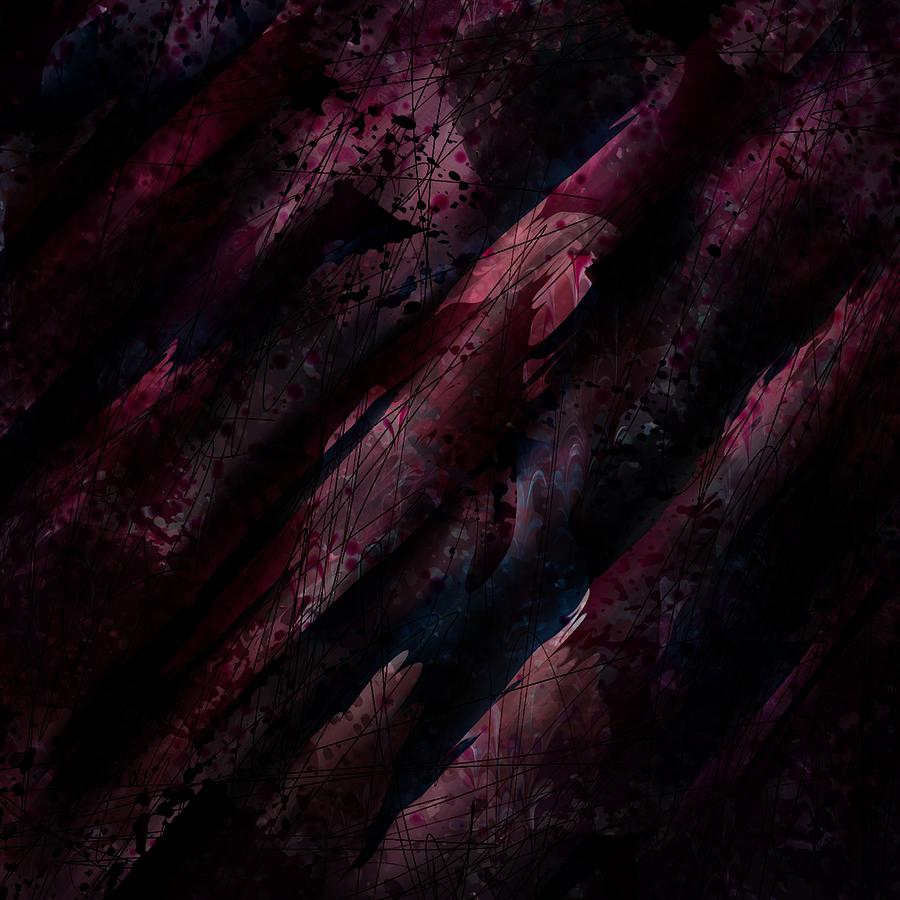 Abstract Digital Art - Wounded Lamb by Rachel Christine Nowicki