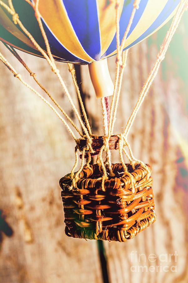 Basket Photograph - Woven Air Craft by Jorgo Photography - Wall Art Gallery