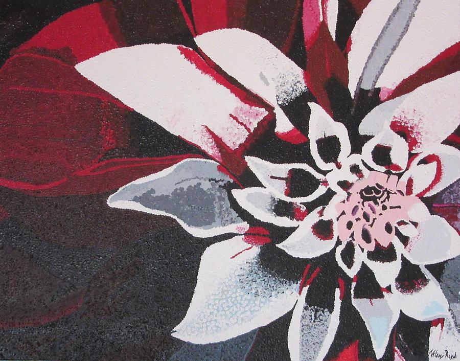 Flower Painting - Wow Dahlia by Tiffany Wright