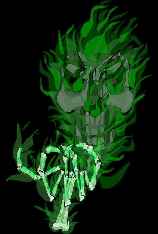Wraith Digital Art - Wraith by Shawn Nichols