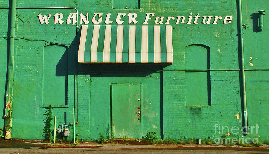 Wrangler Furniture by George D Gordon III