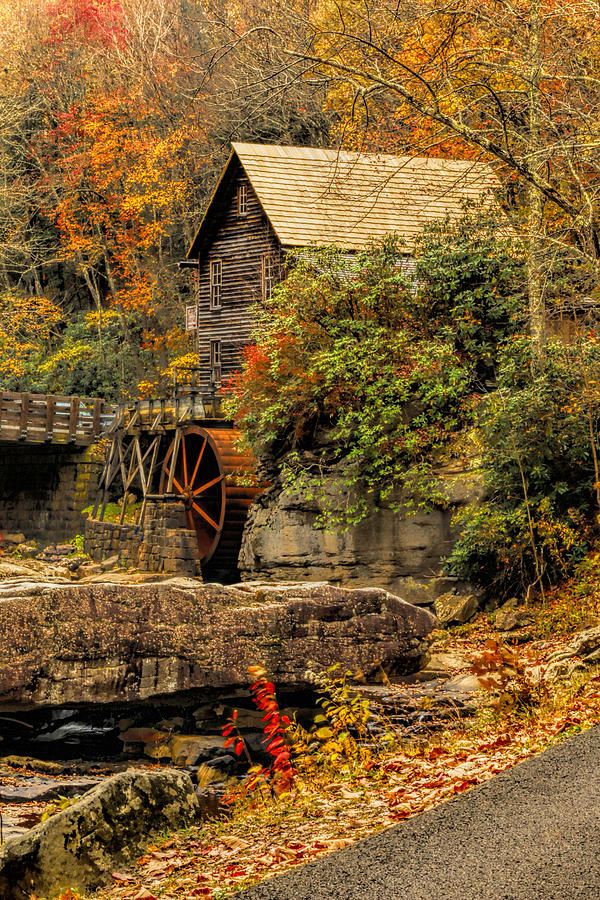 Rustic Photograph - Wrapped In Autumn by Ola Allen