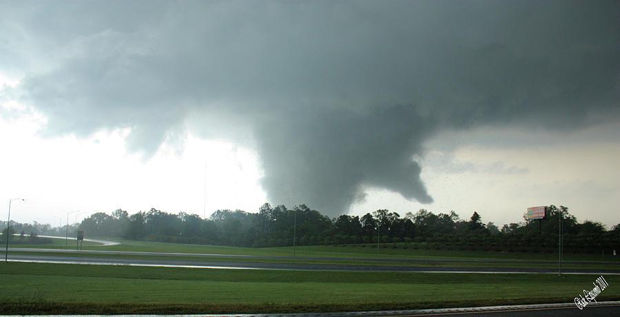 Tuscaloosa Tornado Photograph - Wrath by Rick Lipscomb