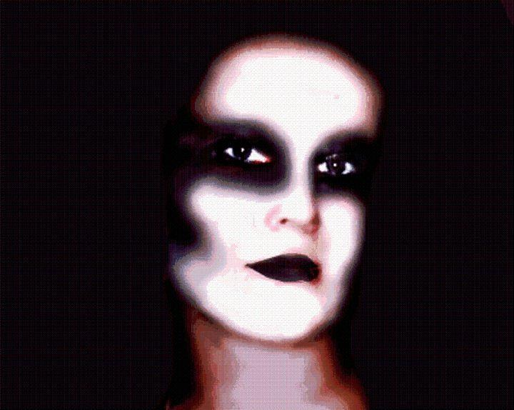 Creepy Digital Art - Wrath by Tabitha Longbrake