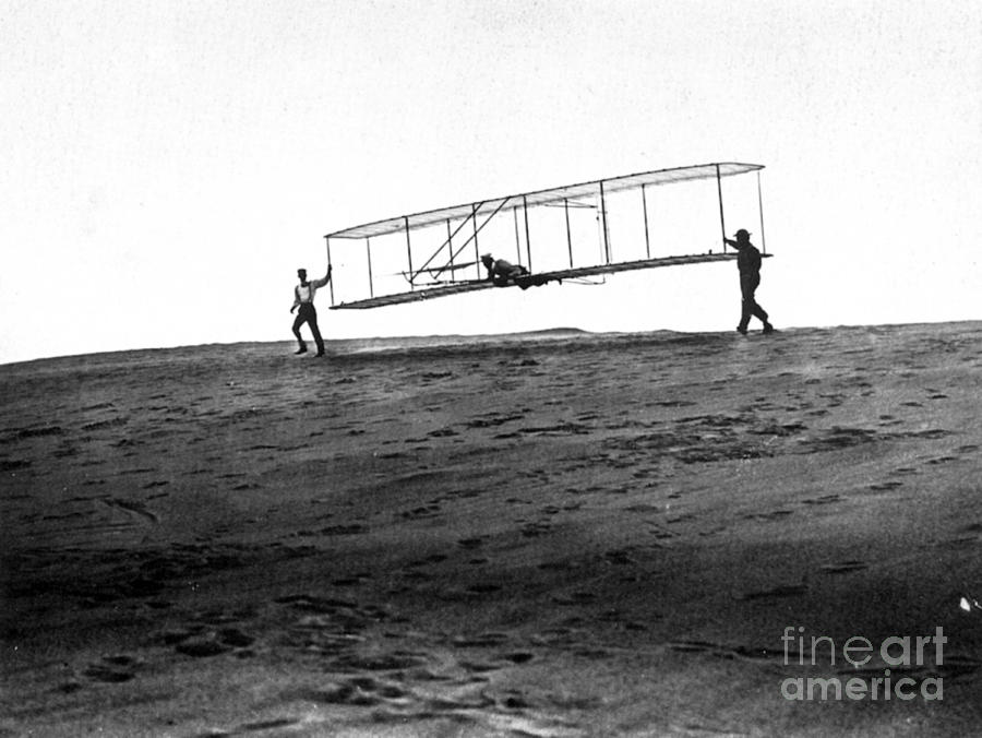 an analysis of the brothers wilbur and orville wright who made the worlds first successful flights i
