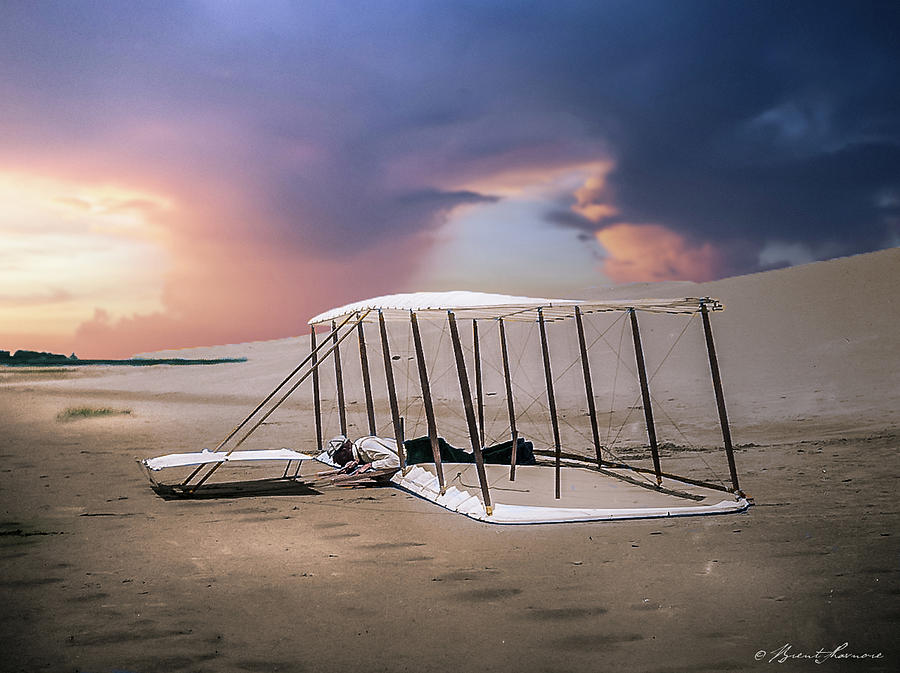 Wright Brothers Glider Photograph by Brent Shavnore